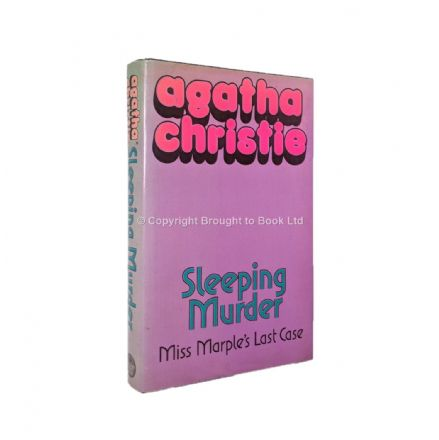 Sleeping Murder by Agatha Christie First Edition Published Collins Crime Club 1976